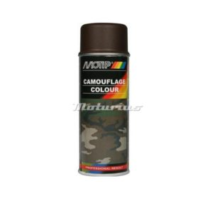 Camouflage lak mud brown leder bruin RAL8027 mat –Motip 04205