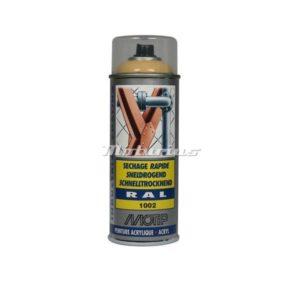Industrial lak RAL1002 zand geel -Motip
