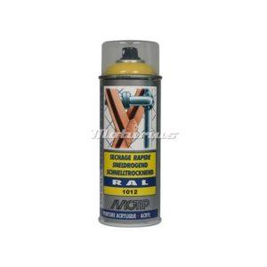 Industrial lak RAL1012 citroengeel -Motip