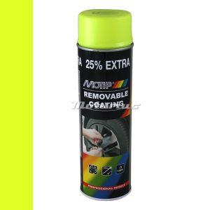 Plastidip sprayplast fluor geel –Motip 04310