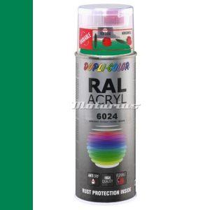 RAL6024 Verkeersgroen hoogglans acryl lak in 400ml spuitbus -DupliColor